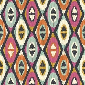 Sequoyah Diamonds Ikat