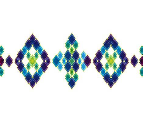 Diamond fabric by zuzanne_platz on Spoonflower - custom fabric