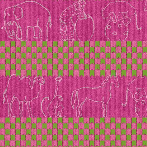 Circus stripe fabric by materialsgirl on Spoonflower - custom fabric