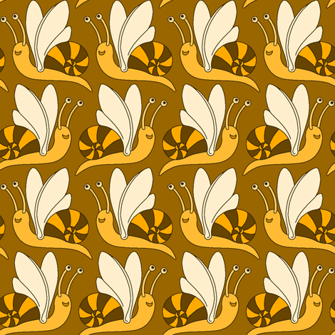 I bee-lieve I can fly fabric by sef on Spoonflower - custom fabric