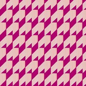 Geo Wing Pink