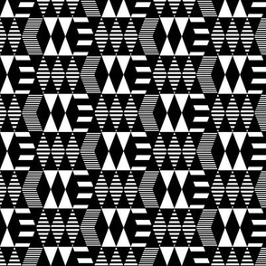 Black & White Geometrics