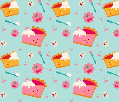 ZAKKA kids Piece Of Pie fabric by chosefri on Spoonflower - custom fabric