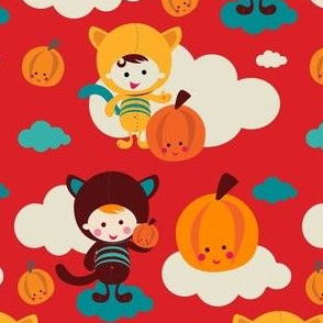 ZAKKA kids - RED Pumpkin