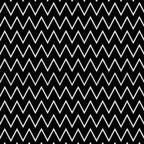 Black & White Zig Zag