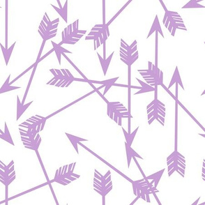 arrows scattered // purple pastel lavender lilac