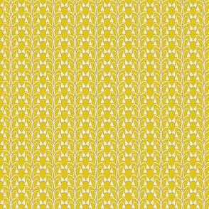 Snow Drop - Mustard Yellow