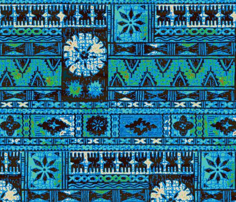 Fijian Tapa 1c fabric by muhlenkott on Spoonflower - custom fabric