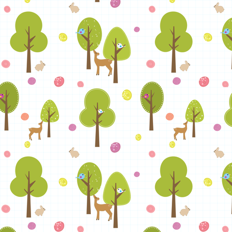 120_Forest fabric by witee on Spoonflower - custom fabric