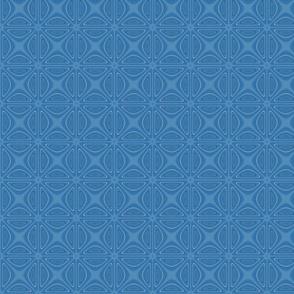Blue Crisscross Large © Gingezel™