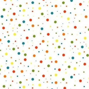Rainbow spots, dots and specks