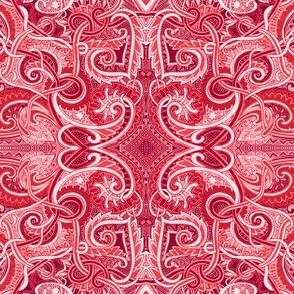 Rococo Red Paisley