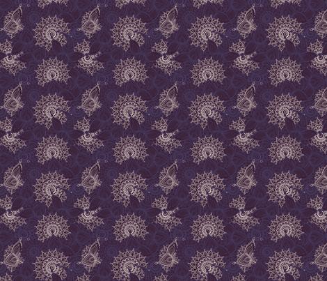 Plum Paisley 3 fabric by ann_sanna on Spoonflower - custom fabric