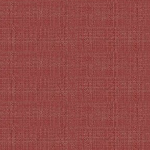 Linen Weave - red
