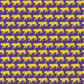 Purple & Yellow Tigers