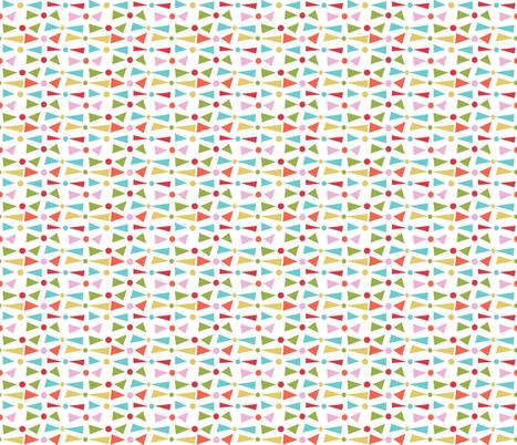 Happy Time Geos fabric by emilyannstudio on Spoonflower - custom fabric