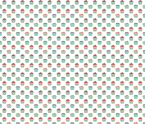 Berry Fiesta fabric by emilyannstudio on Spoonflower - custom fabric
