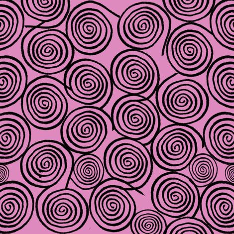 Swirl Patterm Sally Inspired  fabric by lanrete58 on Spoonflower - custom fabric