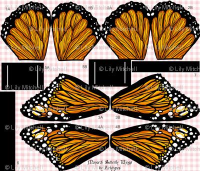 Monarch Butterfly Wings Kit