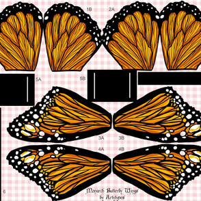 Monarch Butterfly Wings Kit