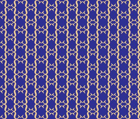 Blueberry lattice fabric by deesree on Spoonflower - custom fabric