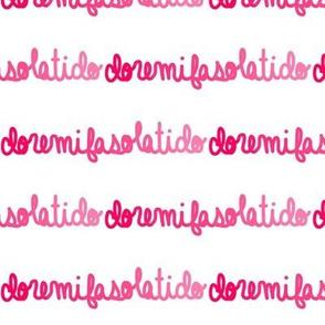 Do Re Mi pink