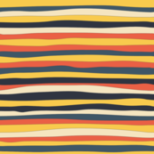 Perfectly imperfect stripes