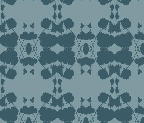 poppy_watercolor-ch-ch fabric by artmettle on Spoonflower - custom fabric