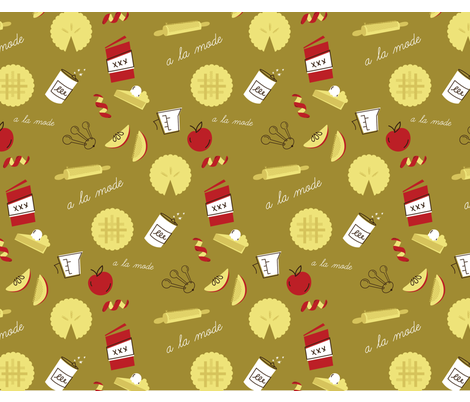 ApplePie3-01 fabric by mallyp on Spoonflower - custom fabric