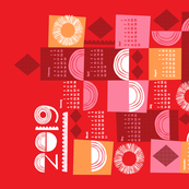 2019 juxtaposition tea towel calendar-27 inch