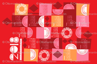 2018 juxtaposition tea towel calendar-27 inch