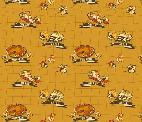 Hope You Like Pie!  fabric by yourfriendamy on Spoonflower - custom fabric