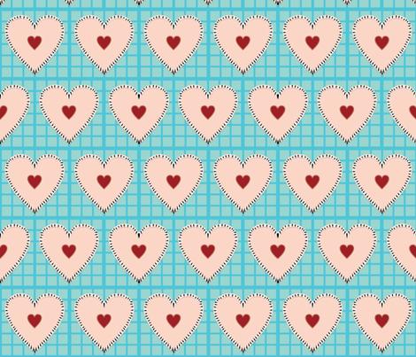I Love Pie fabric by stefferjill188 on Spoonflower - custom fabric
