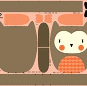 Owl - Stuffed Animal to Sew