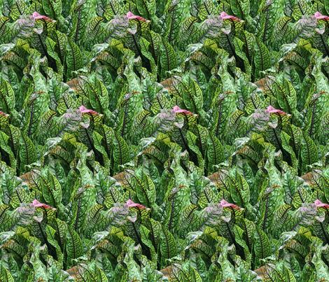 Leaves fabric by will_la_puerta on Spoonflower - custom fabric