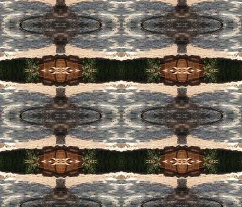 Shadows on Stone Paving fabric by winterblossom on Spoonflower - custom fabric