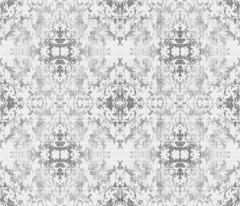 Faded Grey Garden fabric by mypetalpress on Spoonflower - custom fabric