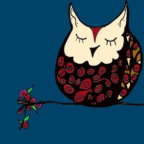 Rose the owl
