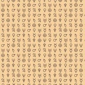 alchemy planet symbols  try 2