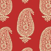 India_red_paisley_block_print_gift_wrap_shop_thumb