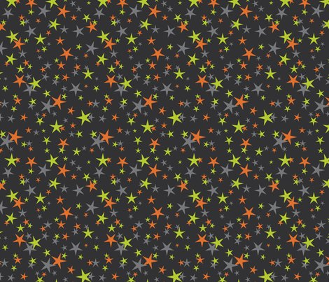 Halloween_stars_green_orang_shop_preview