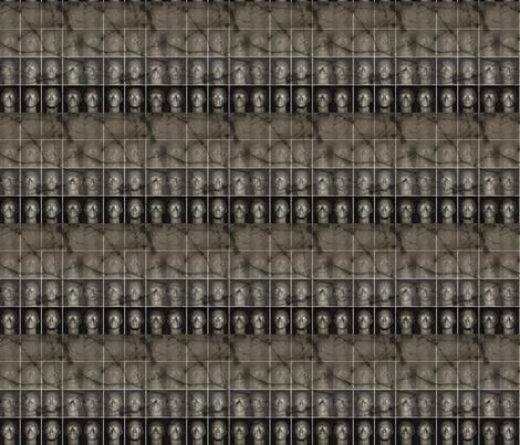 Ghosts fabric by sydneywaves on Spoonflower - custom fabric