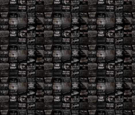 Film Noir fabric by sydneywaves on Spoonflower - custom fabric
