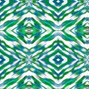 Peacock diamonds