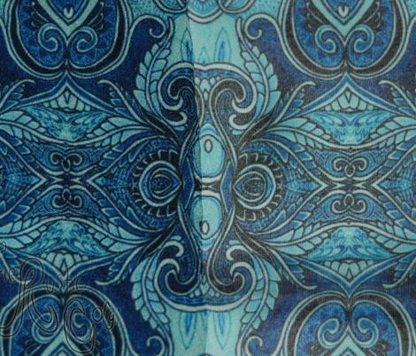 Big Blue Victorian Psychedelia