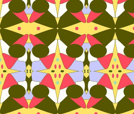 Corridors fabric by ameadows on Spoonflower - custom fabric