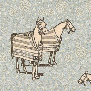 William Morris' Baker Blanketed Horse