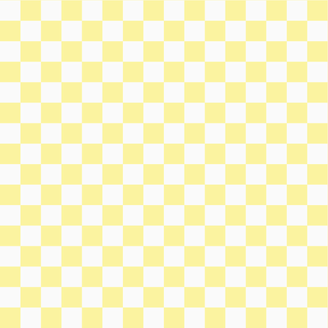 Checkerboard Yellow Fabric By Tinag On Spoonflower