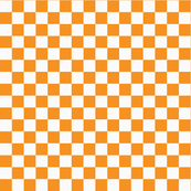 Checkerboard Orange