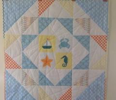 Checkerboard Blue
